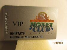 Hotel San Remo- Las Vegas, Nv.- Money Club Card-Closed Vegas Casino- mint