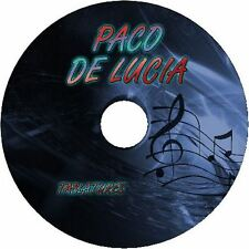 PACO DE LUCIA GUITAR TAB TABLATURE CD BEST OF GREATEST SONGS LESSONS SHEET MUSIC
