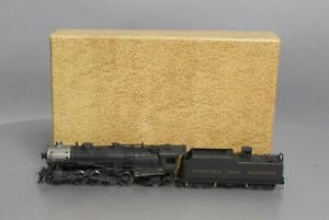 Sunset Models HO Brass N&W K-3 4-8-2 Steam Locomotive & Tender - Painted EX/Box