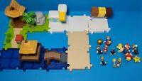 World of Nintendo • Micro Land • Super Mario • Playset and Figure Lot