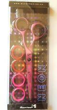 Glamtech One Ergo Neon PINK Hairdressing Scissor 5.5-inch (Official Glamtech)