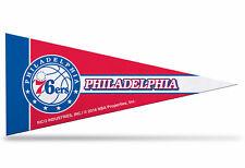"New Philadelphia 76ers NBA Mini Pennant  9""x4"" Made in USA banner flag"