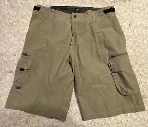 KUHL Mens Z-Cargo Shorts Khaki Size XL