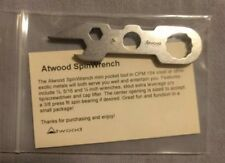 Peter Atwood  steel SpinWrench NEW, EDC,