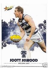 2017 Select Footy Stars Common Card (88) Scott SELWOOD Geelong