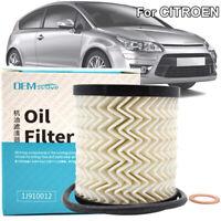 Oil Filter For Citroen Berlingo C2 C3 C4 C5 C8 DS3 Jumper Xsara Picasso 1109AJ