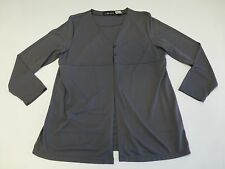 Sag Harbor Womens Size Large Grey Career Shirt Great Condition