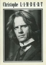 CPM - Postcard Christopher Lambert - Postcard