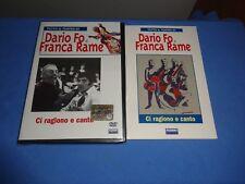 """DARIO FO/FRANCA RAME """"CI RAGIONO E CANTO"""" LIBRO+DVD FABBRI 2006"""
