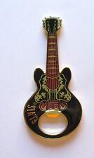 Elvis Presley  Bottle Opener/Magnet  Guitar Shaped-  black red gold