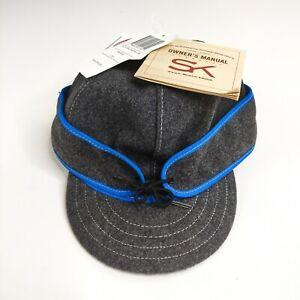 Stormy Kromer The Original Benchwarmer Cap Blue Gray 50450-260-C0k Hat