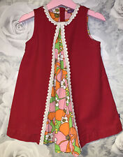 Girls Age 2-3 Years - Little Bird Pinafore Dress