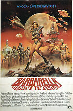 Barbarella  Movie Poster A3 reprint