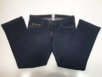 Sass and Bide Womens Size 30 Cortez Dark Blue Straight Ankle Length Denim Jeans