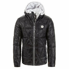Timberland Mount Garfield Wet Look Padded Jacket Mens Size XXL Black RRP £180