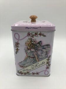 Marie Ange Di Costa 2018 Butter Cookies Flower Fairies Fairy Metal Tin Storage