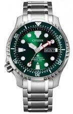 Citizen Automatic Promaster Diver Watch Titanium Men's NY0100-50XE Analog Titan