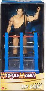 Andre The Giant Wrestlemania Moments Figure & Cart Brand New - Mattel