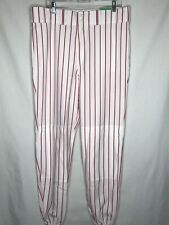 Rawlings Mens Baseball Pants Size Large White And Red Nwt.