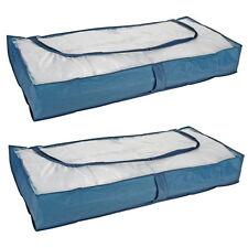 2 Stück Unterbett Aufbewahrung Unterbettkommode Unterbett Kommode atmungsaktiv