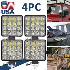 4Pcs Aluminum 48W Led Work Light Pods Flood Spot Lamp Car Truck Off Road Tractor