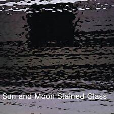 Spectrum Stained Glass Sheet S1009W - Black Waterglass