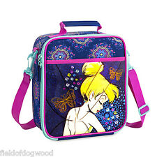 NWT DISNEY Store TINKER BELL LUNCH BOX Tote INSULATED School 2016