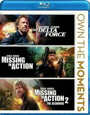 The Delta Force / Missing In Action 1 & 2 (Blu-ray 3 disc) Chuck Norris NEW