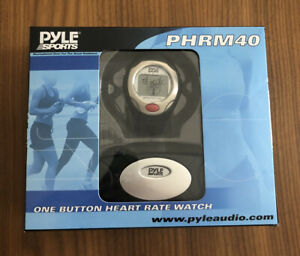 Pyle Sports PHRM40 One Button Heart Rate Watch