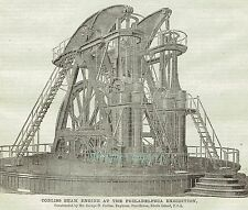 1876 Corliss Beam Engine 2 Page Article A318