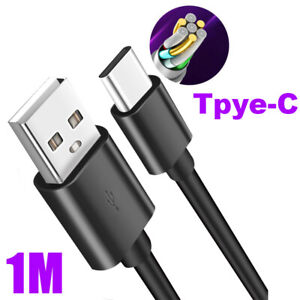5A USB 3.1 Type C Male To USB 3.0 Male Chargers Converter Fast Data Cable Black