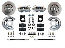 1963-69 Ford/Mercury Front Disc Brake Conversion (wheel kit; plain rotors)
