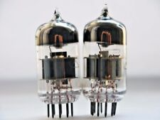 6N23P = E88CC = 6922 = 6DJ8 Matched PAIR Voskhod Rocket Single Wire NEW NOS RARE