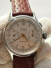 VINTAGE CHRONOGRAPH VETTA WATCH MANUAL VALJOUX 22 MENS 38mm  SWISS MADE