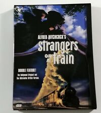 Strangers On A Train 1951 (Dvd) Alfred Hitchcock Rare 1997 Warner Usa Release