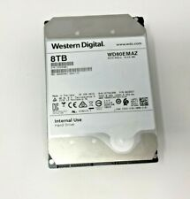 """WESTERN DIGITAL 8 TB SATA 3.5"""" HDD (WD80EMAZ) *TESTED AND WIPED* #1"""