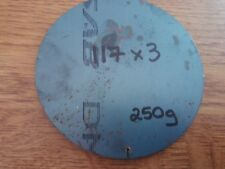 Mild Steel Circle / Disc 117mm x 3mm Thick