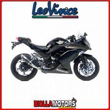 marmitta leovince kawasaki ninja 300 r 2013-2016 gp corsa carbonio/inox 3293