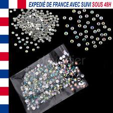 1000X STRASS BRILLANT DIAMANT RESINE 4MM CRISTAL ONGLES NAIL ART SCRAPBOOKING