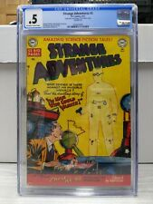 Strange Adventures #5  HTF  1951 CGC .5 Presents Well Off White - White Pages
