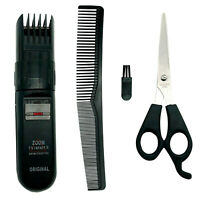 Hair and Beard Grooming Cutting Kit Trimmer Scissors Clipper Trim Cut Cordless