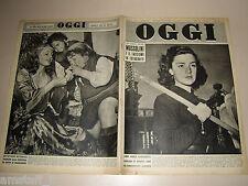 OGGI=1951/27=BENITO MUSSOLINI E IL FASCISMO ATTRAVERSO FOTOGRAFIE=GERT SPLINDER