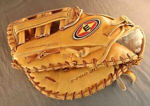 LHT Easton Professional E-Pro 31 Tanned Leather 1B First Base Mitt Glove Rare!