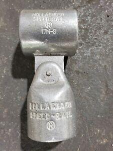 """1 1/2"""" Hollaender speed rail fittings"""