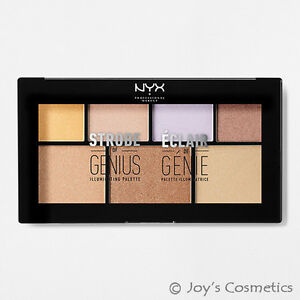"1 NYX Strobe of Genius illuminating Palette Highlight ""STGP 01""*Joy's cosmetics*"