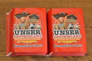 Rewe Unser Deutschland Sammelsticker 50 Tüten / 250 Sticker