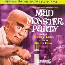 ORIGINAL SOUNDTRACK - Mad Monster Party - CD - Soundtrack - Excellent Condition