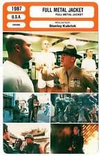 FICHE CINEMA : FULL METAL JACKET - Modine,D'Onofrio,Kubrick 1987