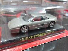 Altaya - Scale 1/43 - FERRARI F355 BERLINETTA - Silver - Mini Toy Car