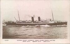 Postcard Shipping ferries Steamer Biarritz RP unposted
